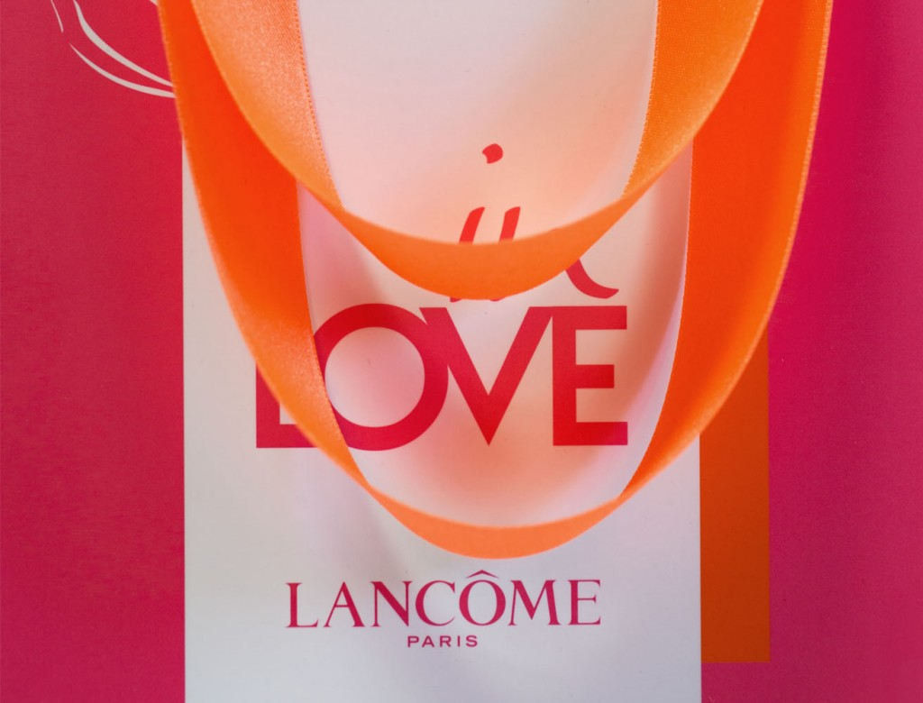 Images LANCOME home page