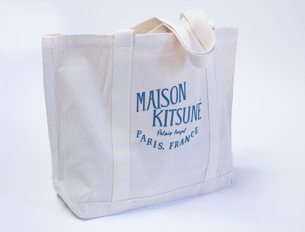 kitsune sac toile