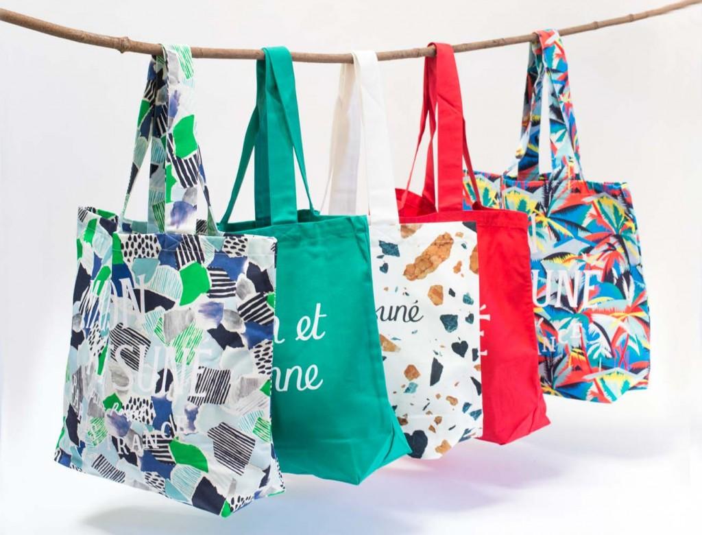 kitsune sacs toiles